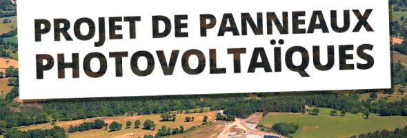 PROJET DE PANNEAUX PHOTOVOLTAÏQUES A MIREMONT