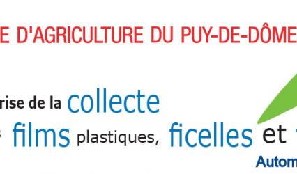 Collecte déchets plastiques agricoles