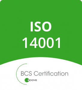 Certification ISO14001