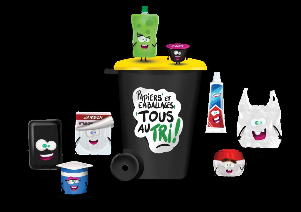 Les nouveaux déchets acceptés