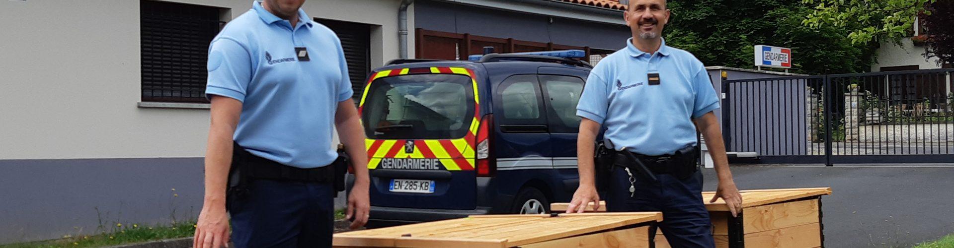 Du compostage à la gendarmerie de Pontaumur