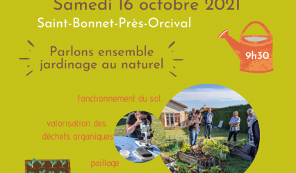 Rencontres au jardin à St Bonnet Près Orcival