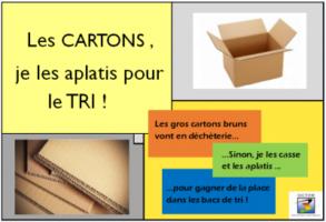 Les Gros Cartons Bruns!