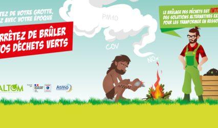 Non au brûlage des déchets verts
